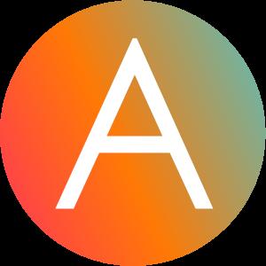 Animated Gradient View Logo