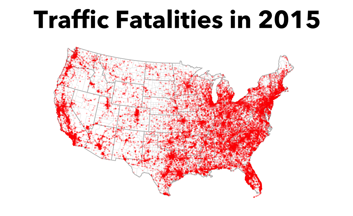 Mapping Traffic Fatalities