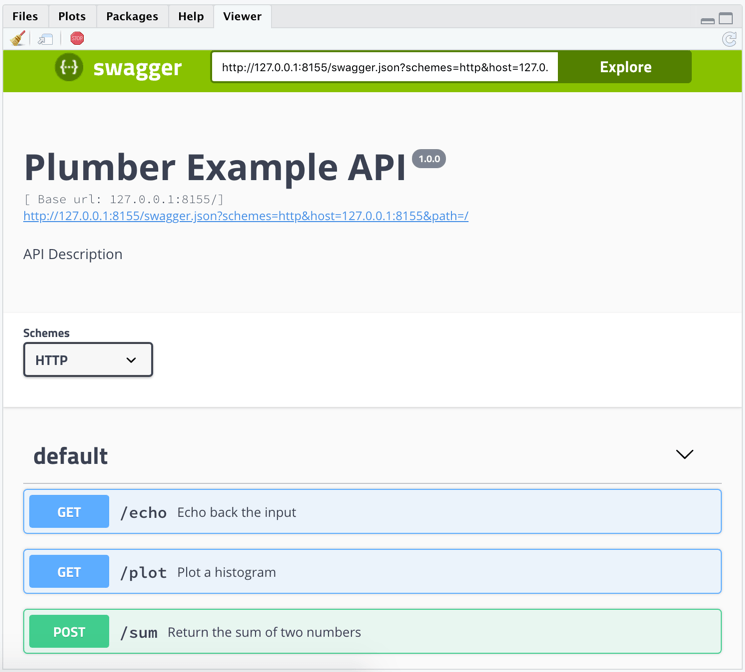 RStudio 1.2 Preview: Plumber Integration