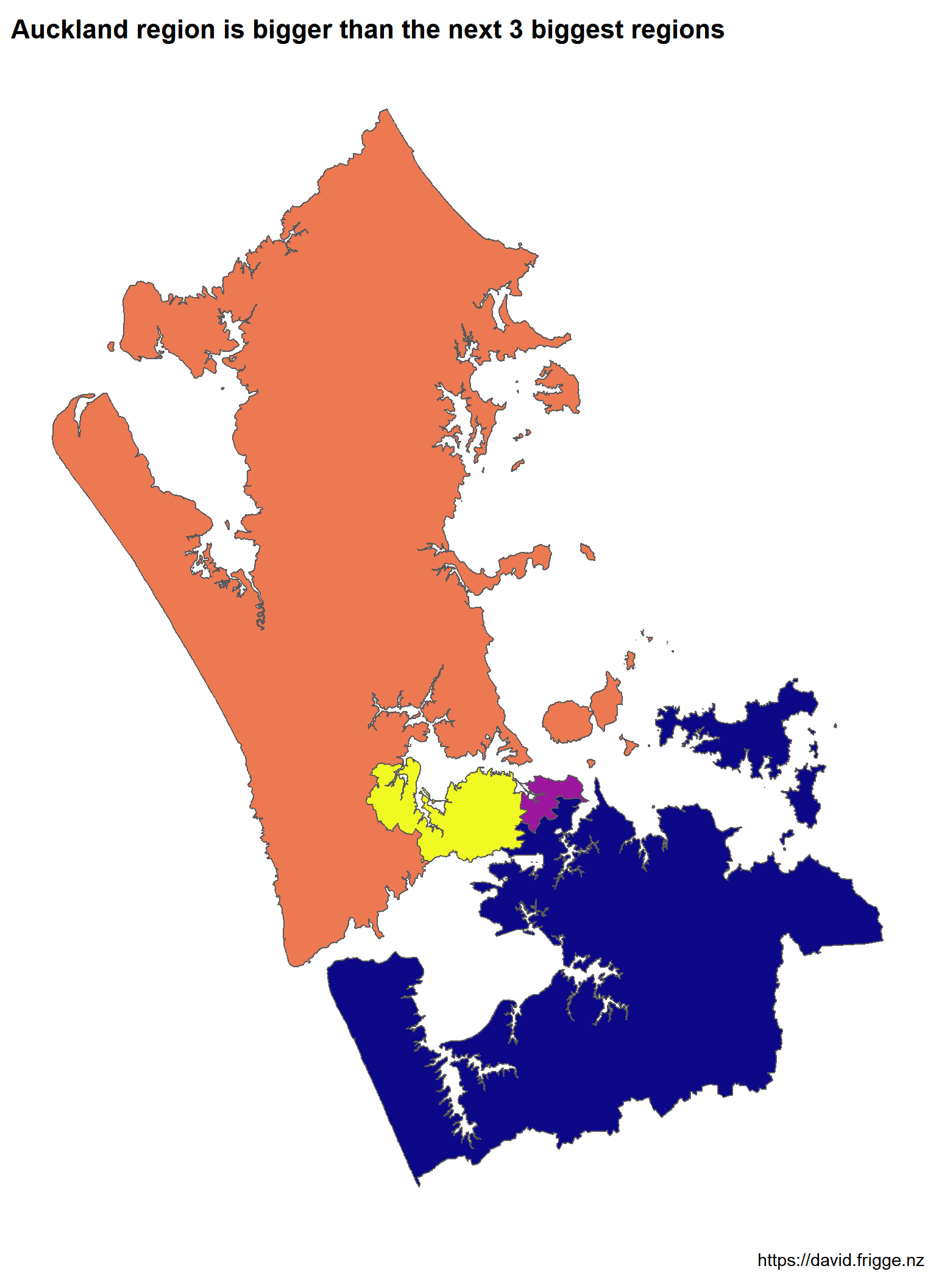 Comparing Auckland's Population with Maps
