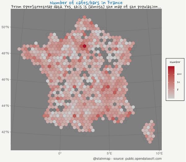 30 days building maps (1) - ggplot2