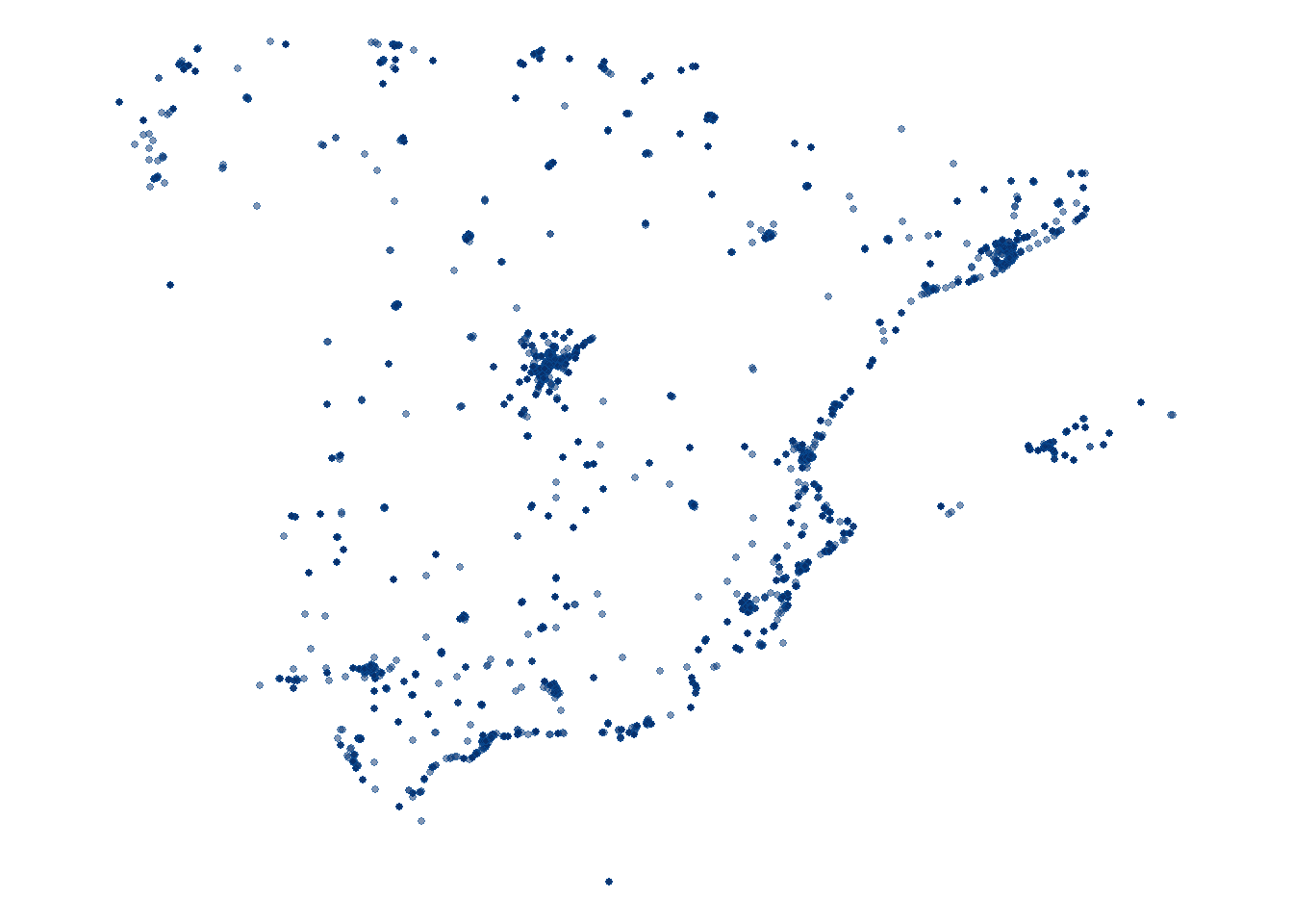 Accessing OpenStreetMap data with R