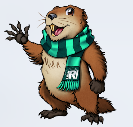 useR! 2021 Margot the Marmot
