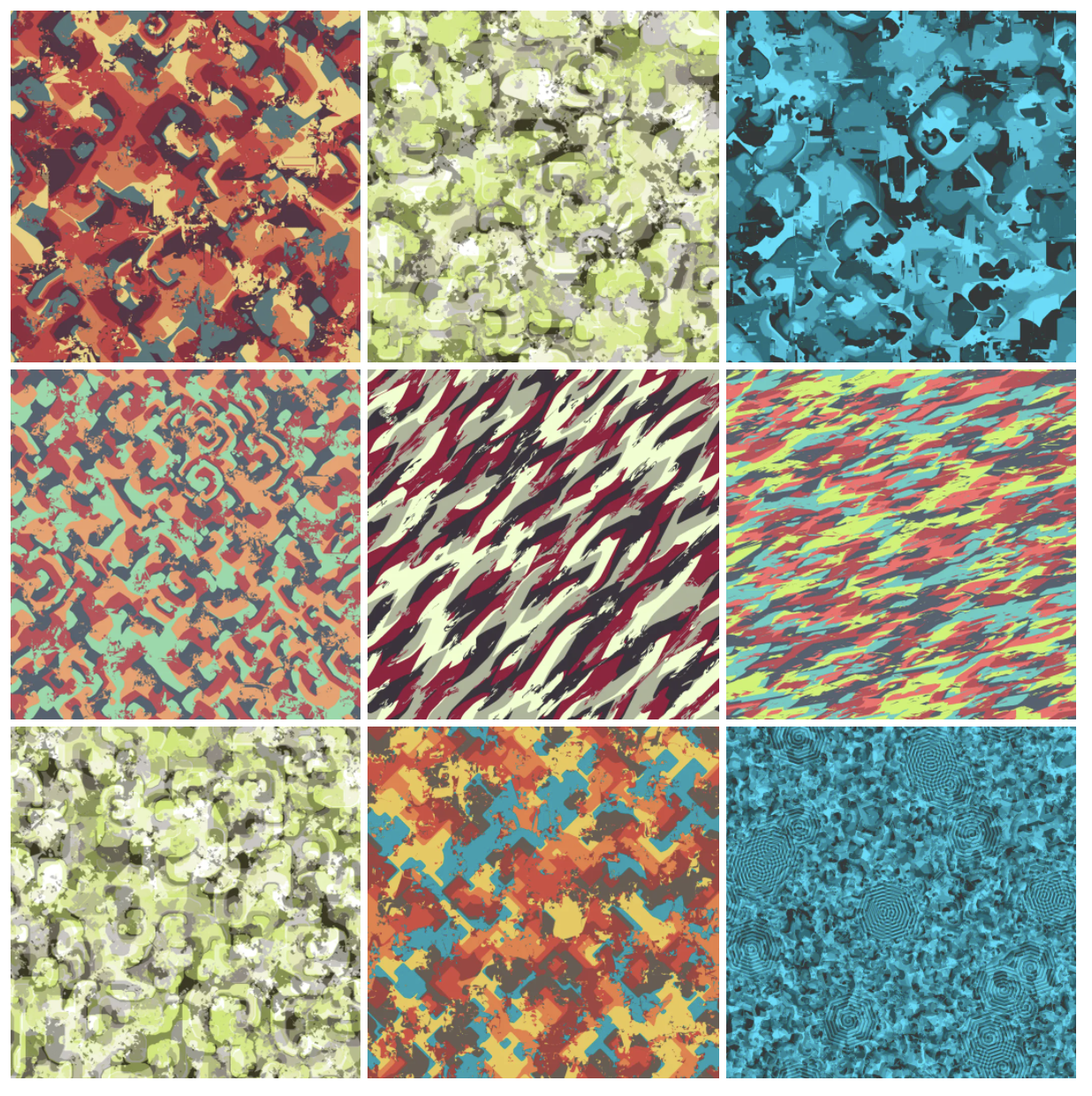 Neighborhoods: Experimenting with Cyclic Cellular Automata