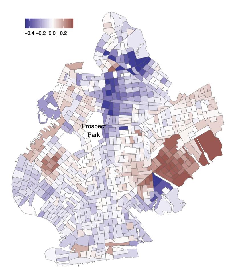 residential racial segregation image