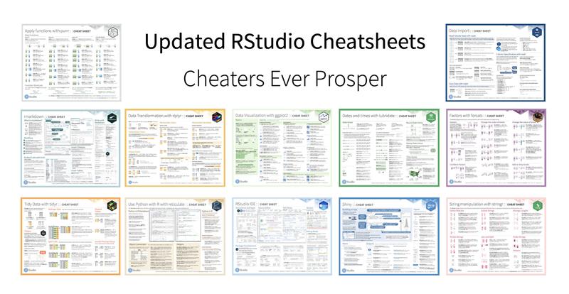 RStudio Cheatsheets