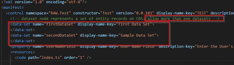 Allow Multiple Dataset