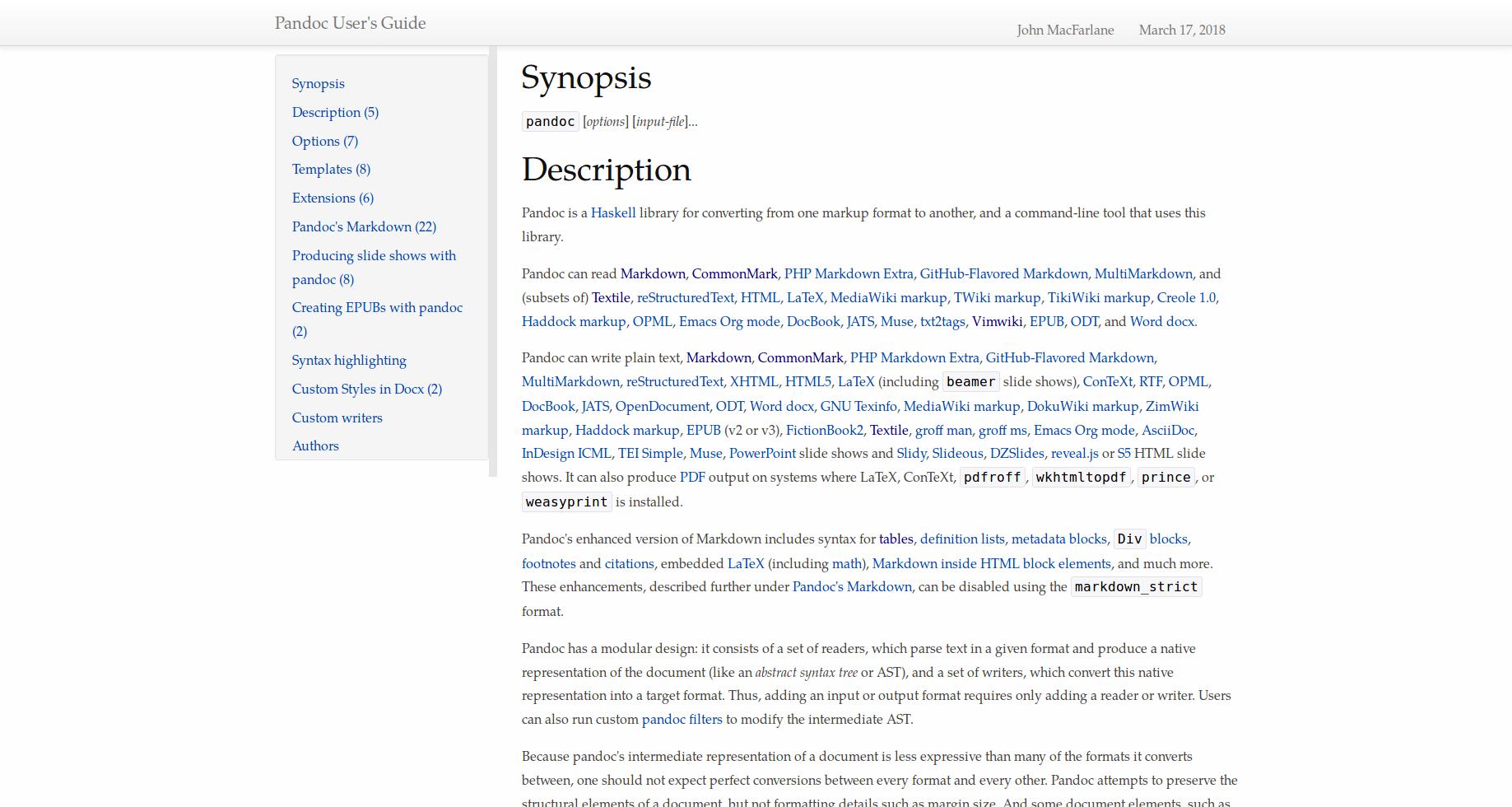 GitHub - ryangrose/easy-pandoc-templates: A collection of portable