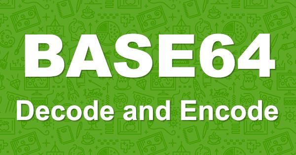 Base64 to Image