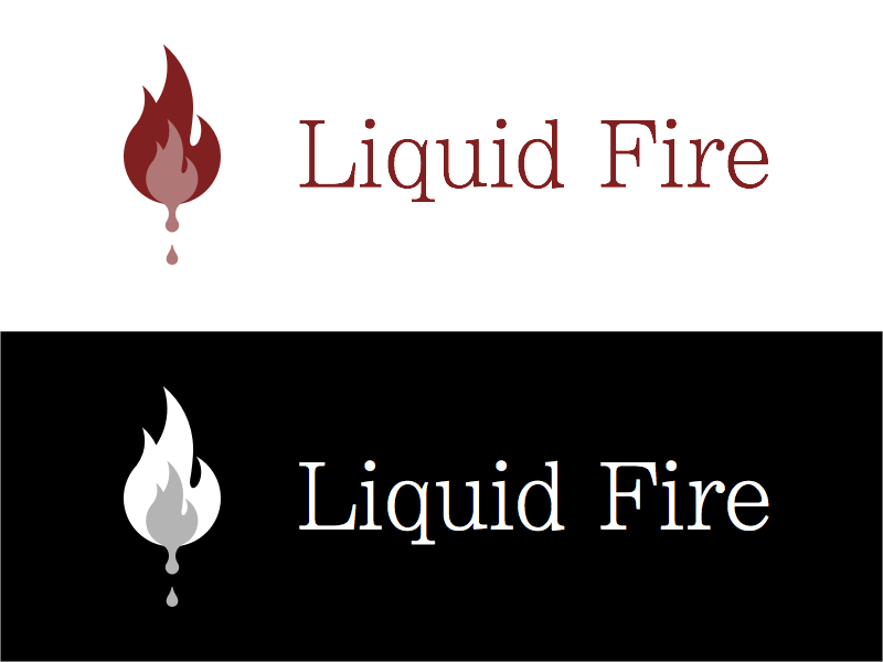 liquid fire color variations