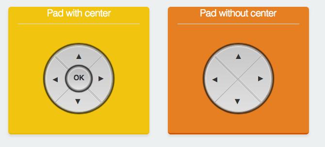 control pads