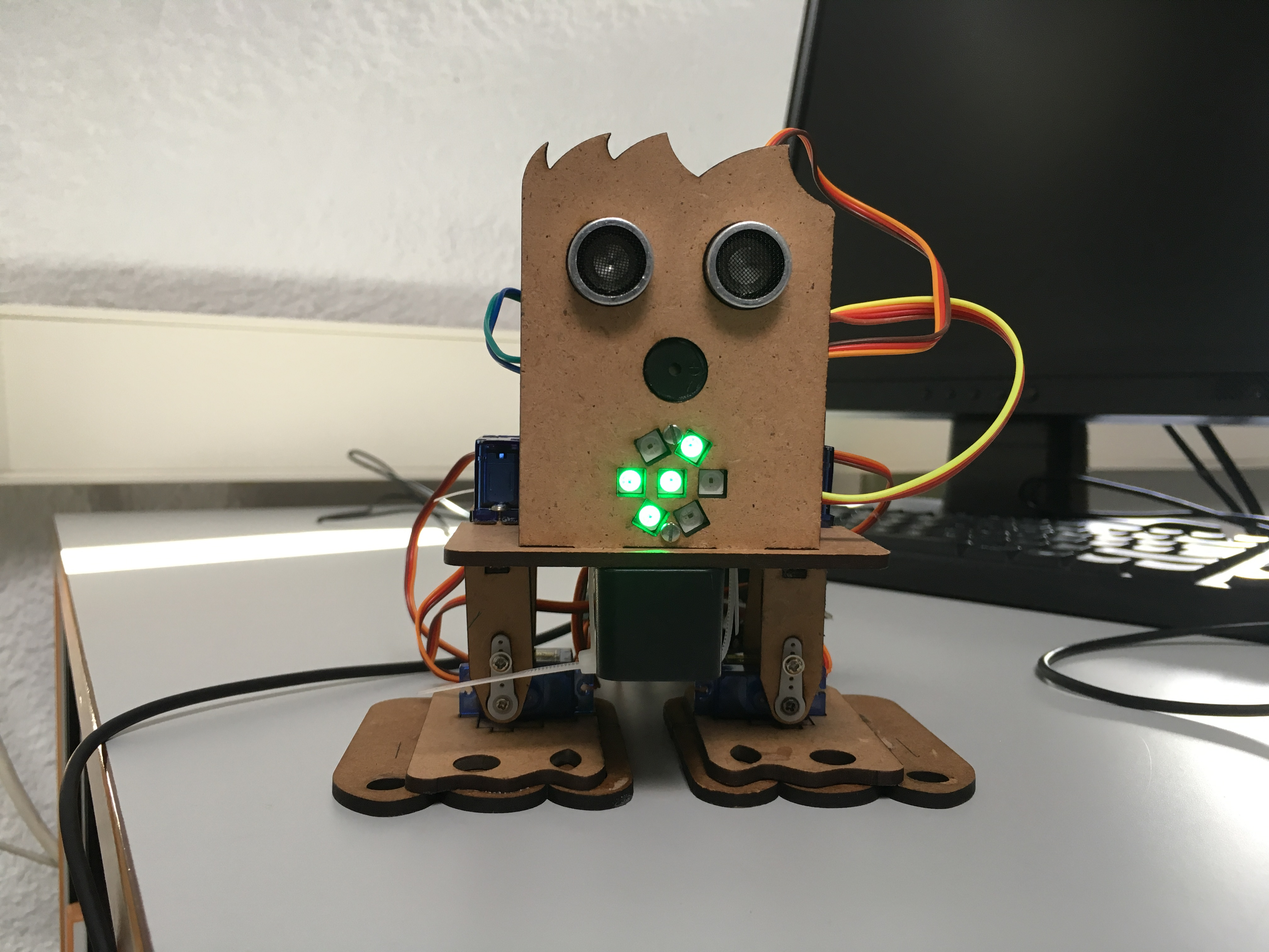 image of a cute robot
