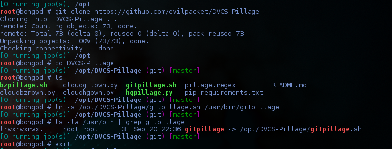install git pillage