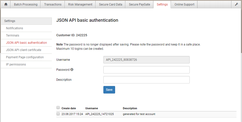Basic Authentication