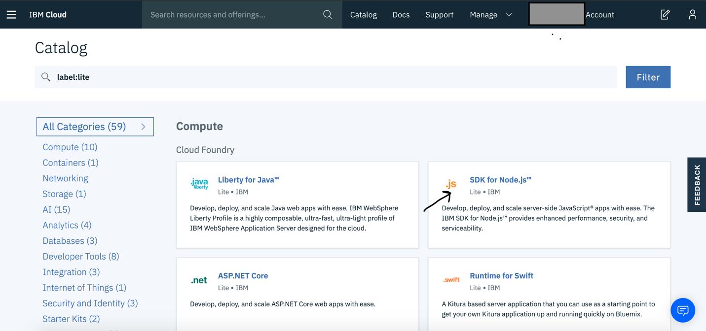 Select SDK for Node.js Service