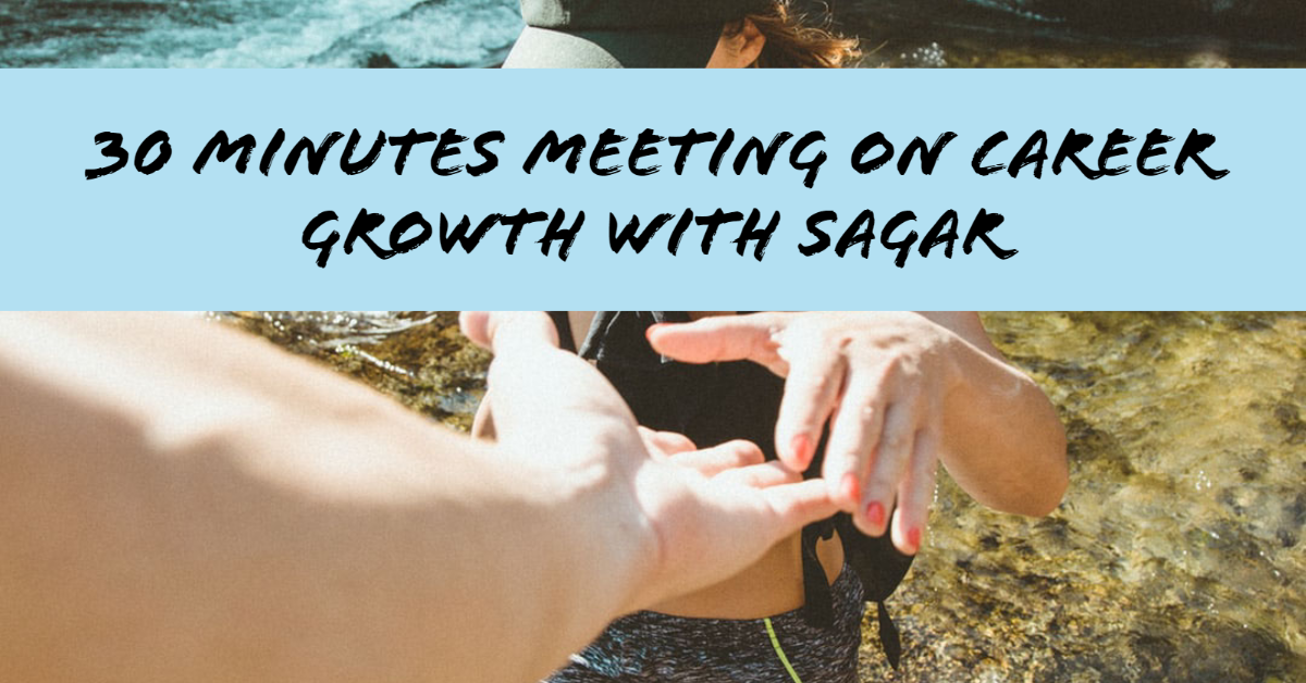 30 Minutes One to One Meeting on Career Growth