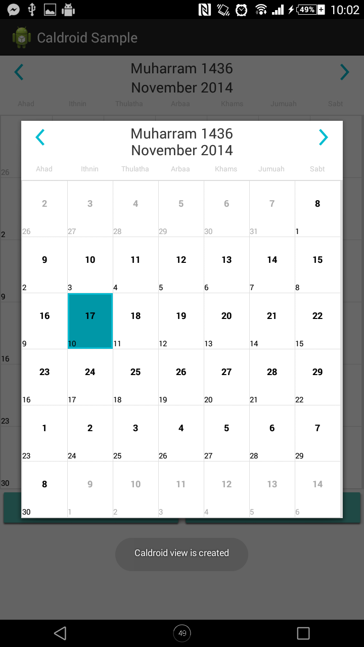 islamic calendar java app download