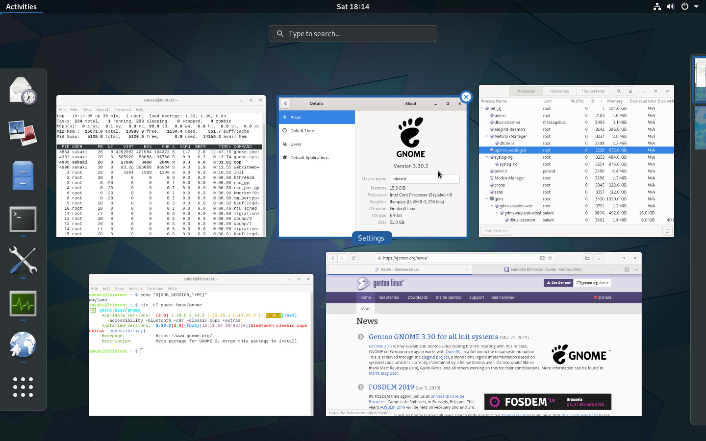 Gentoo Forums :: View topic - GNOME 3 30 for all init systems
