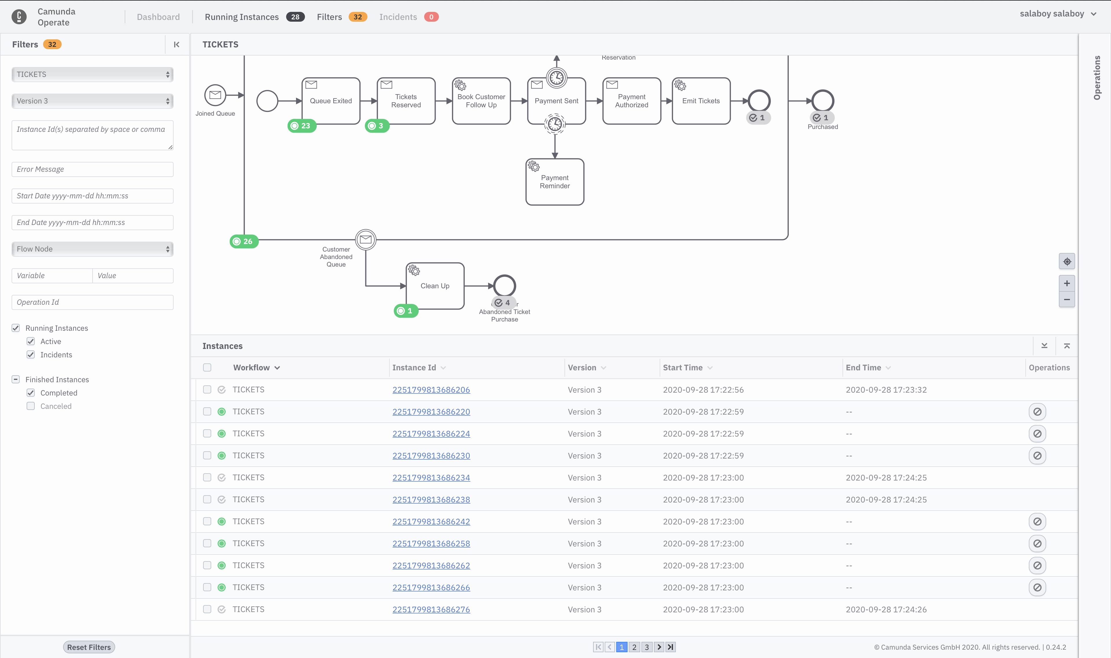 Workflow Model V3 in Operate