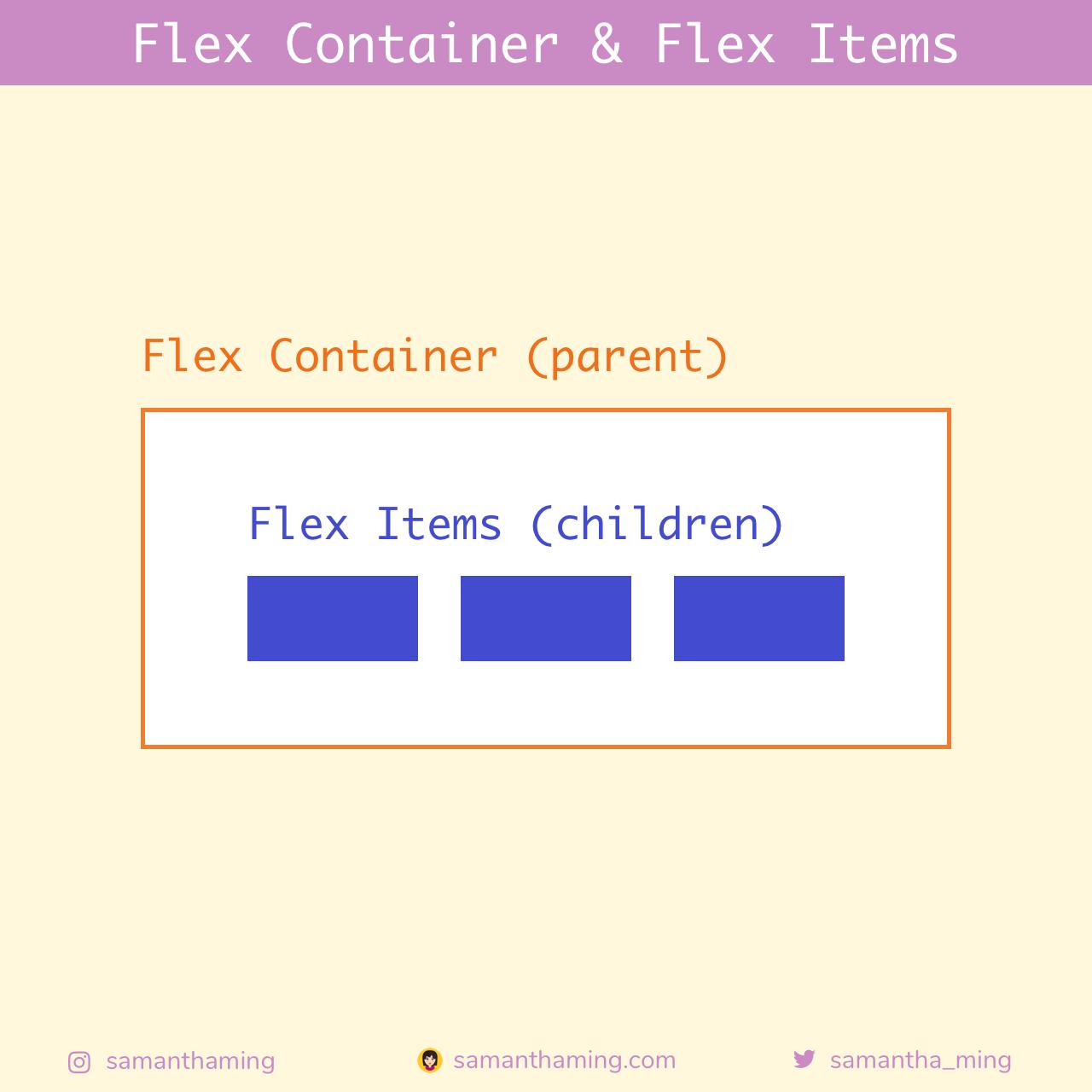 Flex Container & Flex Items