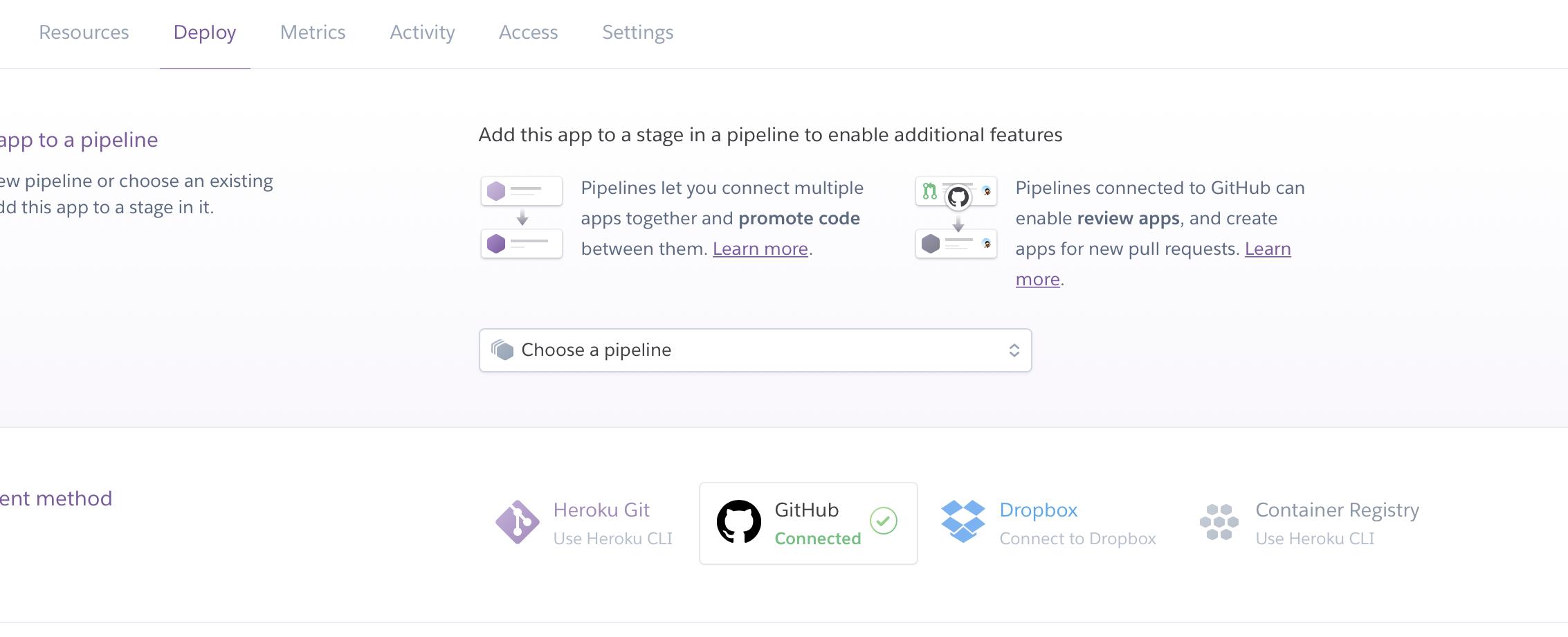 GitHub Connect