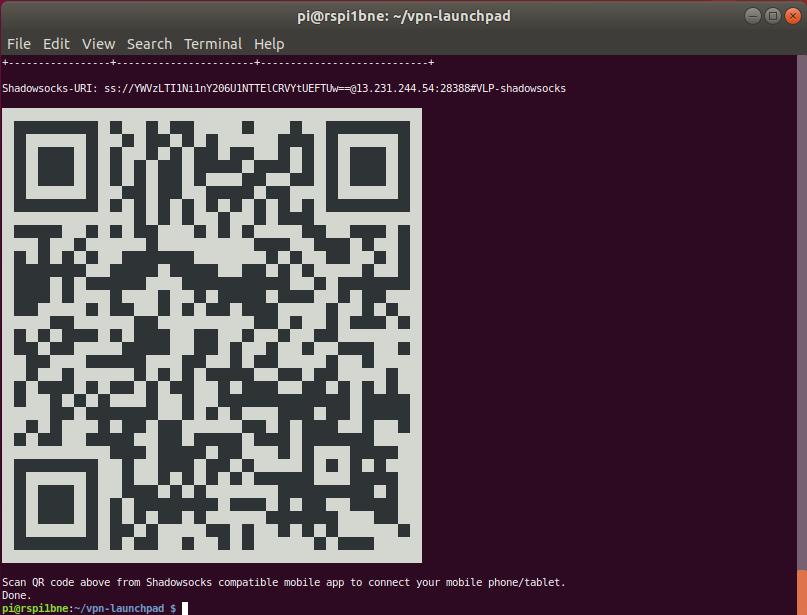 QR code example