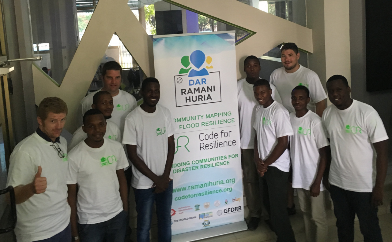 Code for Resilience Dar es salaam kickoff