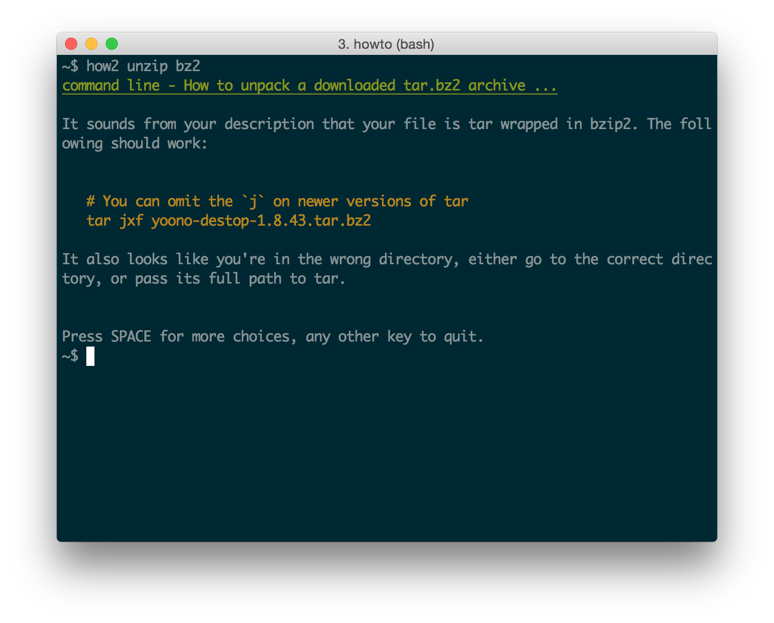 how2: stackoverflow from the terminal