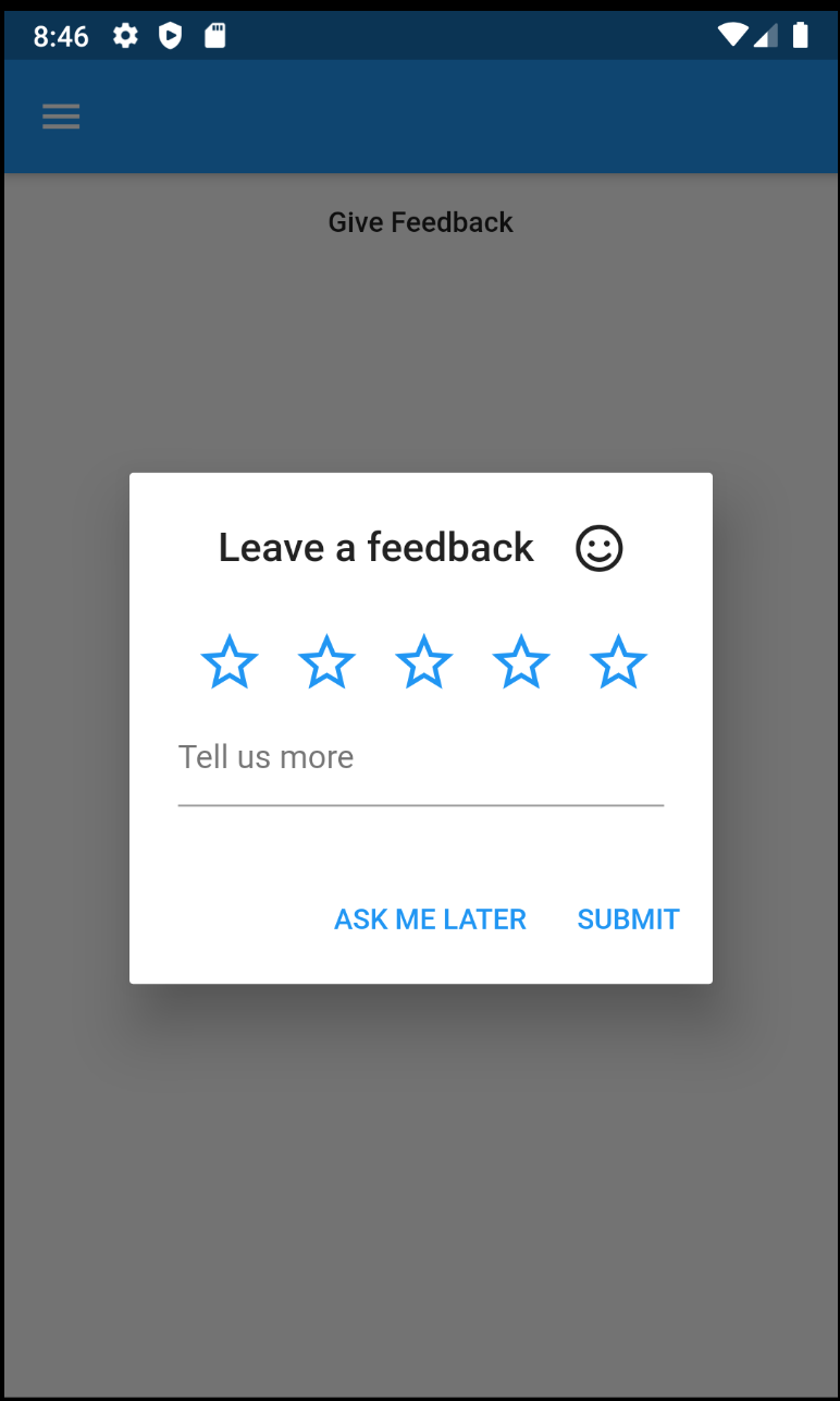 Android Quick Feedback