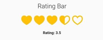Flutter Rating Bar