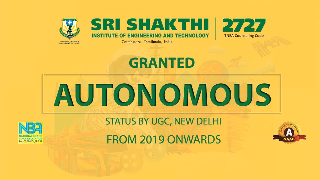 Sri Shakthi Institute of Engineering and Technology, Coimbatore