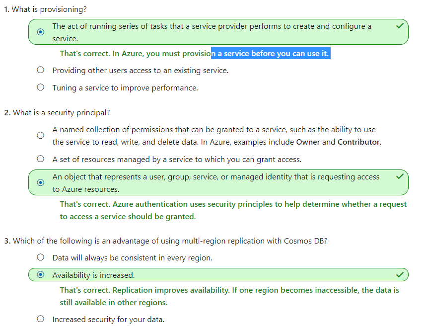 Explore_provisioning_and_deploying_non-relational_data_services_in_Azure_Knowledge_check.PNG
