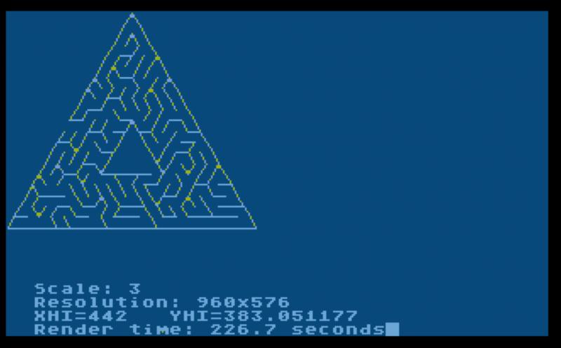 Sample Image 3 - triangle maze