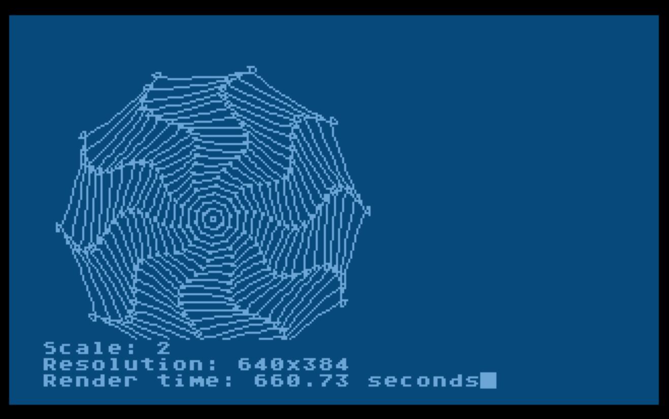 Sample Image 8 - twisted polygon
