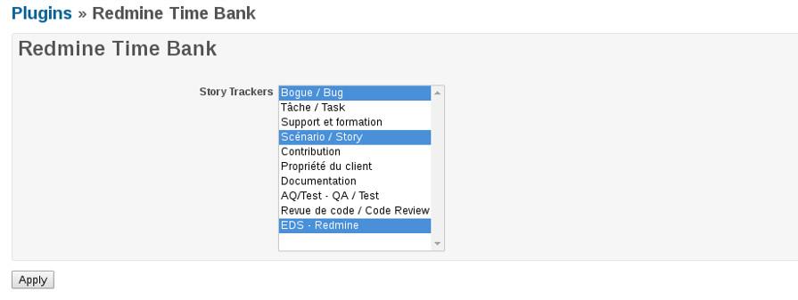 Plugin settings screenshot