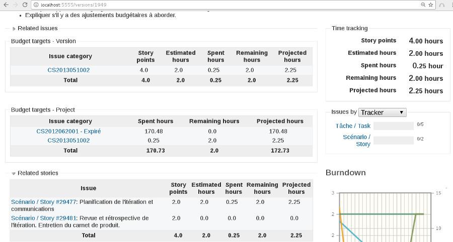 Plugin version time bank screenshot
