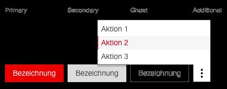 Darstellung des Moduls Buttonleiste