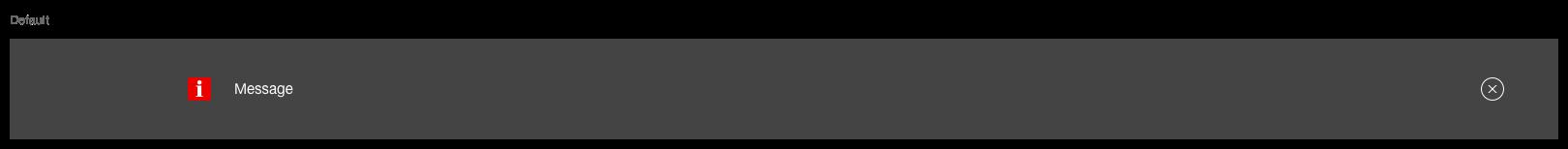 Darstellung der Komponente Ghettobox in der Ausprägung Standard