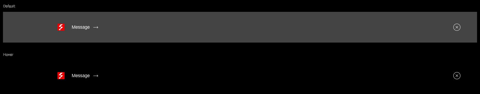 Darstellung der Komponente Ghettobox mit Link