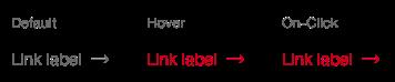 Darstellung der Komponente Link zur Anwendung nach Formularelementen