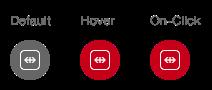 Darstellung der Komponente Link als Absprung zu einem Social-Media Kanal