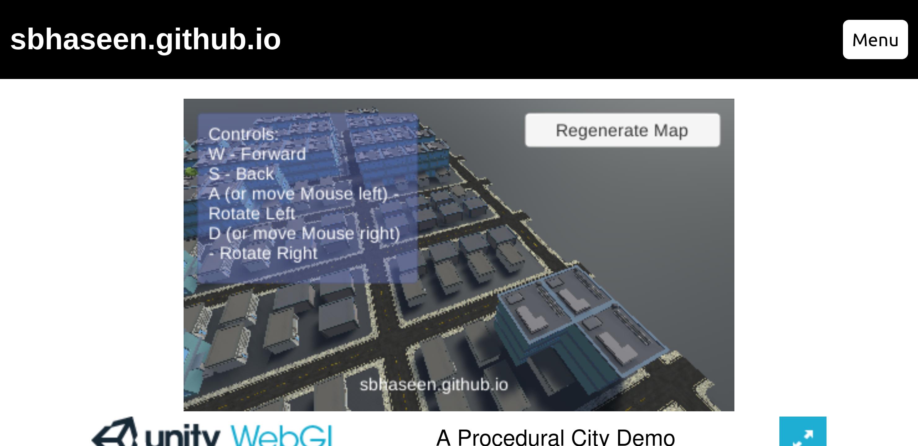 web page screenshot