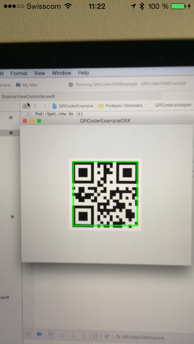 GitHub - sbhklr/QRCoder: A QR code generator and reader for OS X and iOS