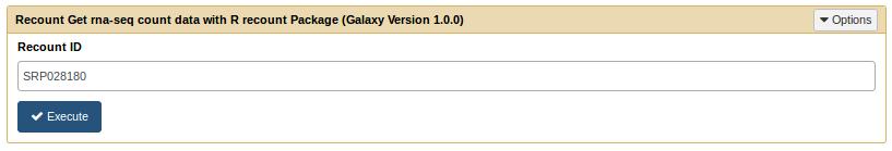 Recount tool form