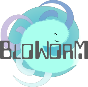 The Bloworm Logo