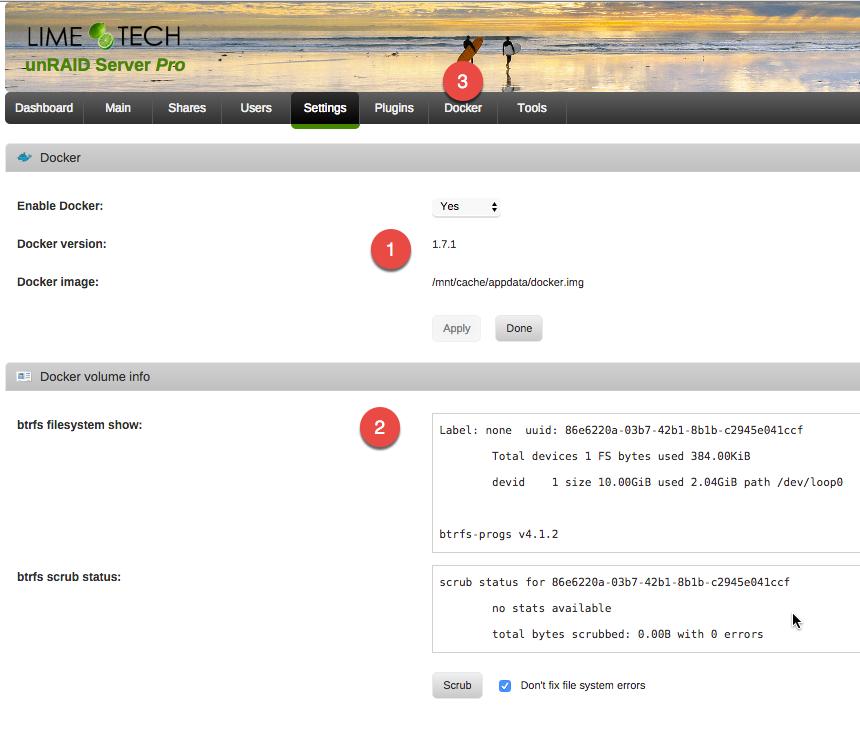 GitHub - scarstens/unraid-setup