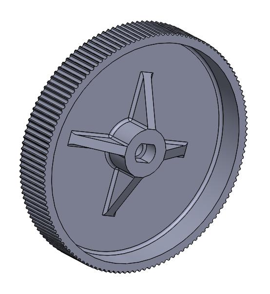 Image of the volume knob