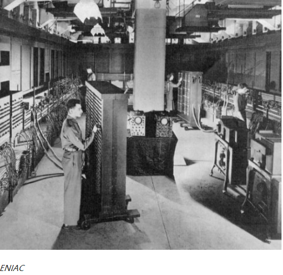 The first general-purpose computer: ENIAC