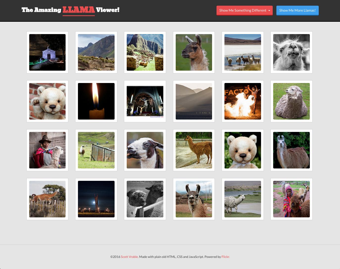 llama viewer screenshot