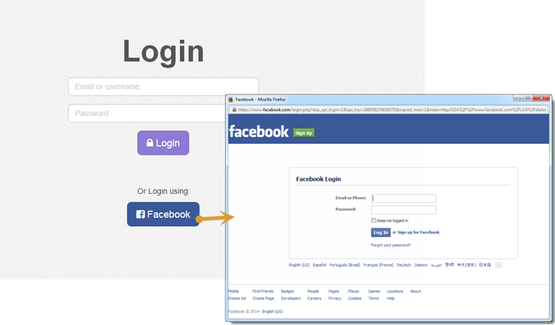 AngularJS Auth Facebook Login Directive""